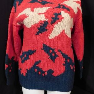 Red White & Green Sweater Ugly Christmas Contender